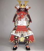 赤糸威本大札大鎧